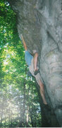 Rock Climbing Photo: This is at Opies Kitchen before it was shut down i...