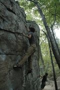 Rock Climbing Photo: Deadpoint