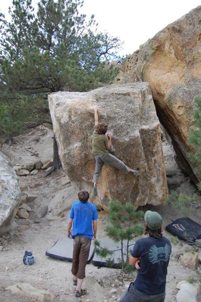 Rock Climbing Photo: the wedgie in ute valley park