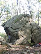 Rock Climbing Photo: Beginning the traverse.