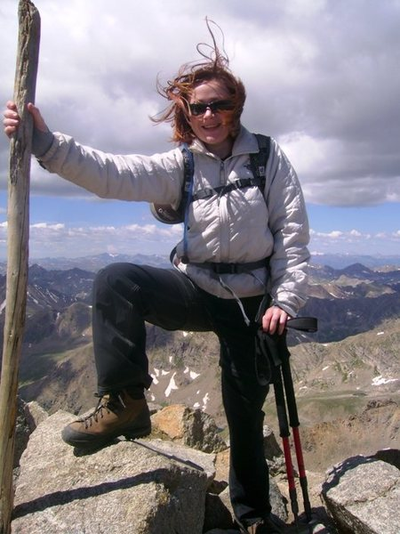 Mt Massive Summit (14K+') Colo. - my 1st 14er!
