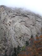 Rock Climbing Photo: Southwest buttress.