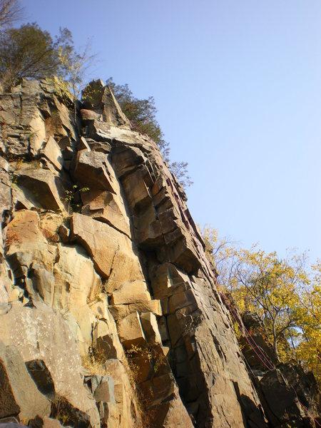 Rock Climbing Photo: Fallen Knight