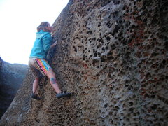Rock Climbing Photo: Unnamed V0, tons of different lines to choose from...