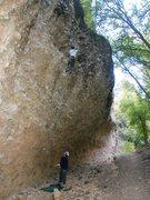 Rock Climbing Photo: Liquid Zipper 5.10d  Photo by Perin Blanchard