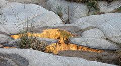 Rock Climbing Photo: Reflection-Rattlesnake Canyon. Photo by Blitzo.