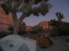 Rock Climbing Photo: Sunset from site #2    Hidden Valley Campground