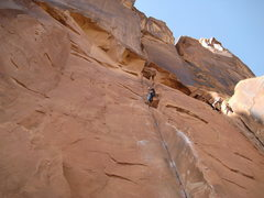Rock Climbing Photo: Hollywood wall... car cragging is great!
