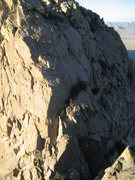 Rock Climbing Photo: The entire route can be seen pretty well from the ...