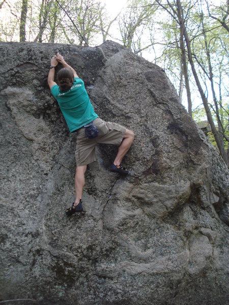 Rock Climbing Photo: Ben I. sending