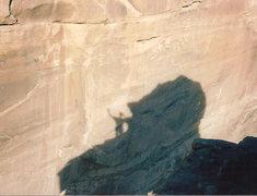 Rock Climbing Photo: Summit self portrait.