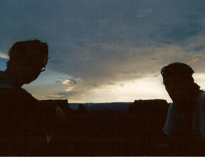Rock Climbing Photo: Andy and Dave hanging out a little too long on the...