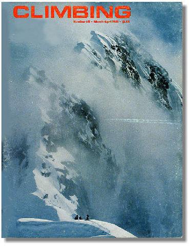 Rock Climbing Photo: Cover of Climbing #65