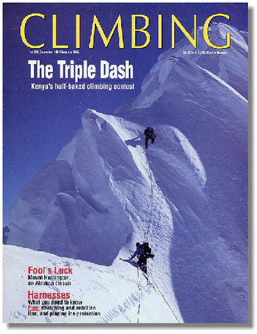 French Ridge, cover of [[Climbing #129]]http://www.climbing.com