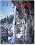 Rock Climbing Photo: Cover of Climbing #99.  Photo: Bob Rotert.