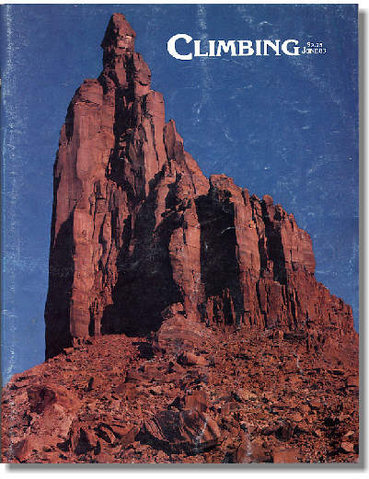 Cover of [[Climbing #78]]http://www.climbing.com, photo by Ed Webster
