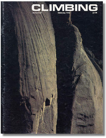 Rock Climbing Photo: Cover of Climbing #76