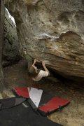 Rock Climbing Photo: Doni on the start