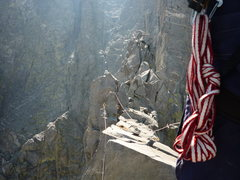 Rock Climbing Photo: Miss! Try as we might with wrist finesse, this sce...