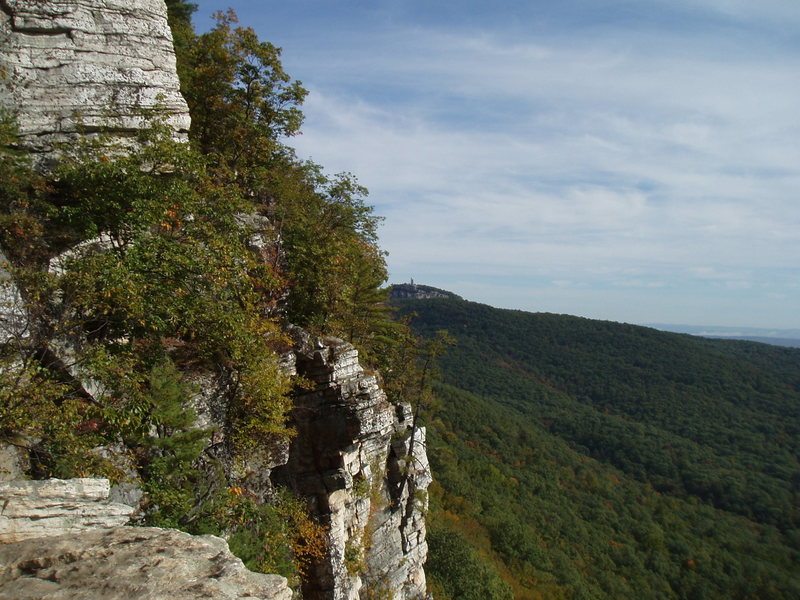 Skytop from GT ledge.
