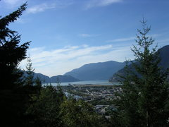 Rock Climbing Photo: nicer fall day in squamish