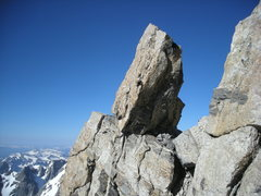 Rock Climbing Photo: view from lower Exum