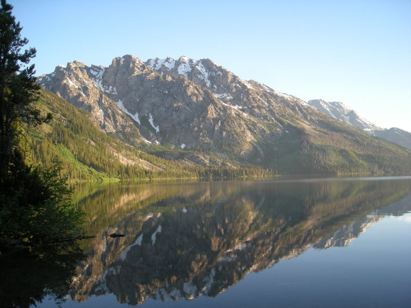 Jenny Lake, WY. early morning<br> <br>