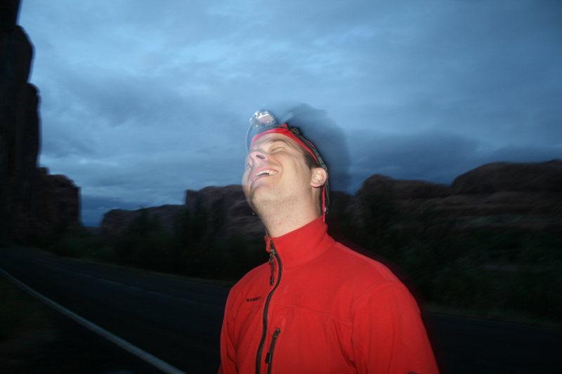Rock Climbing Photo: mikey