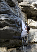 Rock Climbing Photo: Dolly Parton 10b/c, Q'Emlin Park, Post Falls, Idah...