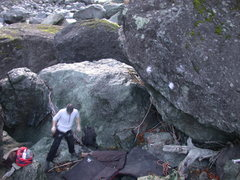 Rock Climbing Photo: Goat Cheese. Slick slopers!