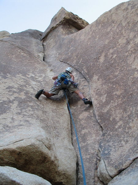 Very fun sustained climb.  A classic must do if in the Echo Rocks area