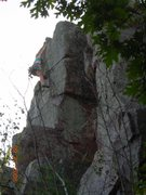 Rock Climbing Photo: Another perspective of the final moves of Creamy C...