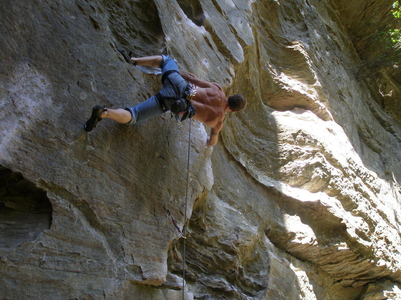Rock Climbing Photo: Lower Half of RoShampo by Ali Clark