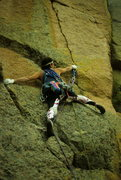 Rock Climbing Photo: CT with some very nice lycra tights - somewhere in...