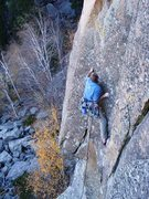 Rock Climbing Photo: 2ME is still very focused as he works past another...