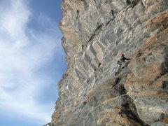 "Rock Climbing Photo: Tanja ""Tanjanator"" Winter sending."
