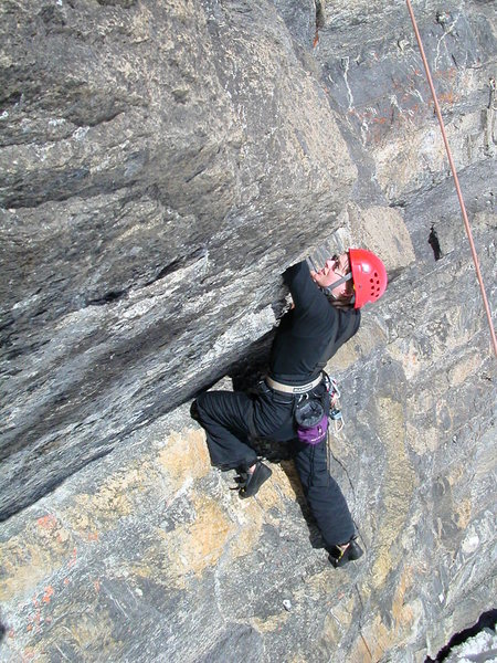 "Rock Climbing Photo: Tanja ""Tanjanator"" Winter sending"