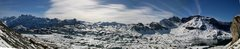 Rock Climbing Photo: Melchsee panorama view from the crag