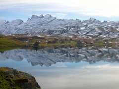Rock Climbing Photo: Melchsee reflections, in autumn