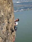 Rock Climbing Photo: Blaz Germek, with smooth Slovenian style, on Camel...