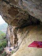 Rock Climbing Photo: Eye Cave.