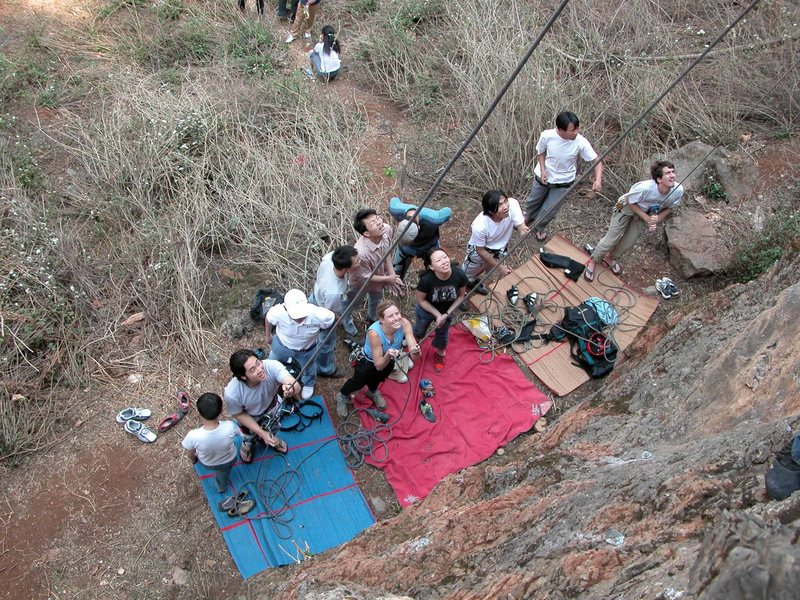 Rock Climbing Photo: And a great place to take your office mates, who w...
