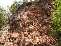 Rock Climbing Photo: It's short, but really fun tufa climbing at Jingle...