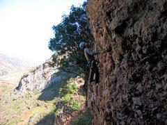 Rock Climbing Photo: Bob Moseley, Jingle Bell Rock.