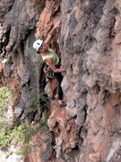 Rock Climbing Photo: The Krabi-like tufa of Weeping Wall.
