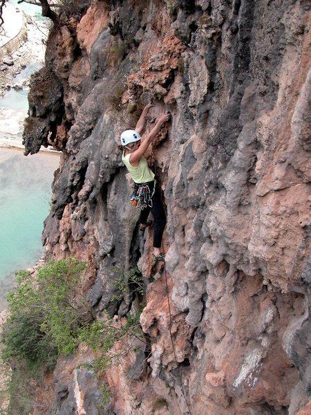 Rock Climbing Photo: Ton Sai Dream before the traverse.