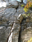 Rock Climbing Photo: There is another set of bolts directly above the c...