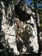 Rock Climbing Photo: Three Bears cracks.