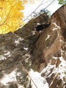 Rock Climbing Photo: Eli thinking on Electric