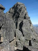 Rock Climbing Photo: Looking toward the summit of Stetinden from shortl...